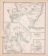 Bridgewater, Hebron, Hebron Town, Bristol Town, New Hampshire State Atlas 1892 Uncolored